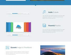 MSabor16 tarafından Design Homepage Layout For Cloud Storage App için no 26