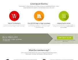 updated6188 tarafından Design a landing page within our website design için no 5