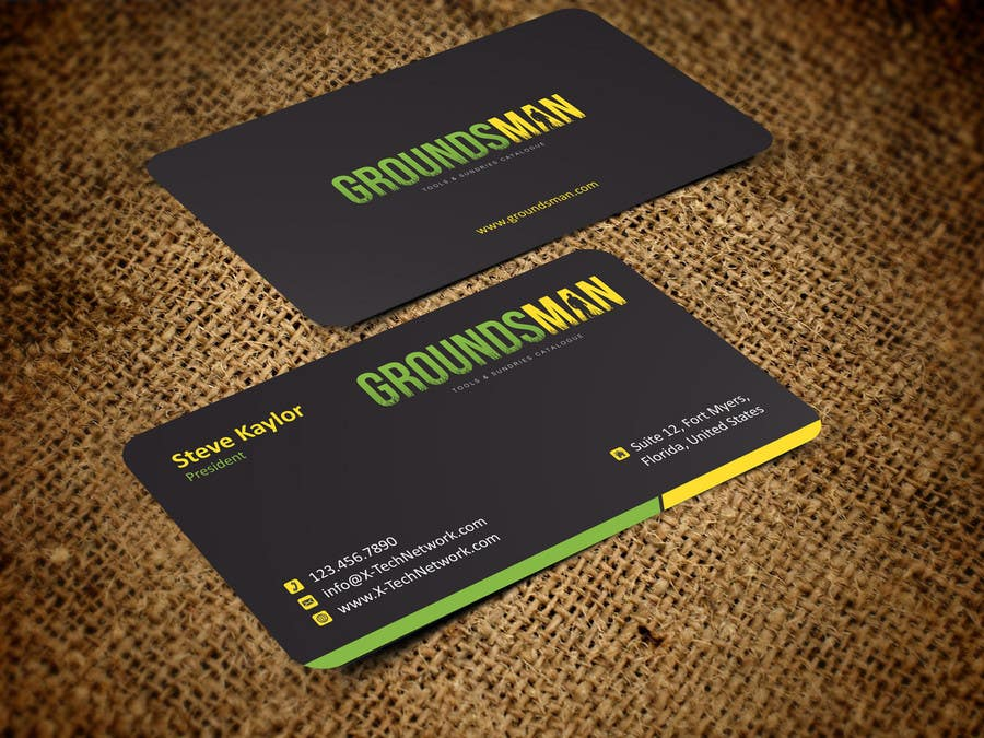 Penyertaan Peraduan #4 untuk Design some Stationery for Groundsman, cards, letter heads and email footers