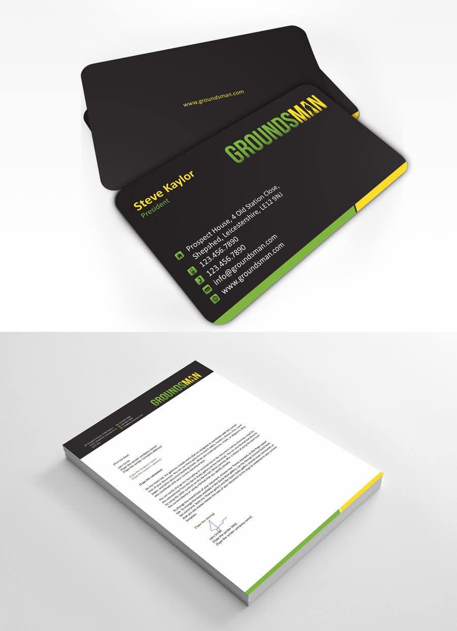 Inscrição nº 99 do Concurso para Design some Stationery for Groundsman, cards, letter heads and email footers