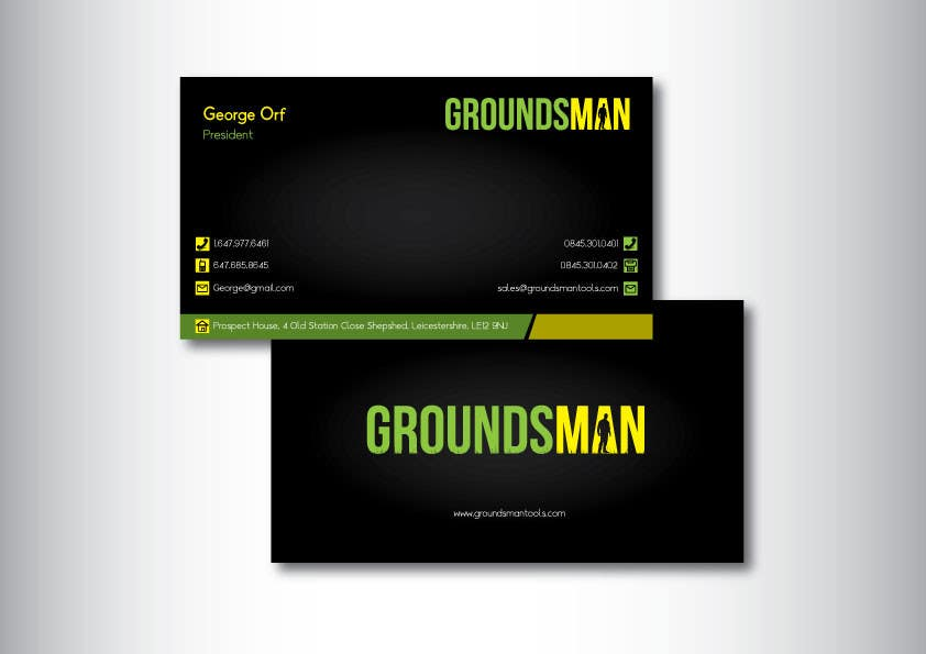 Penyertaan Peraduan #110 untuk Design some Stationery for Groundsman, cards, letter heads and email footers