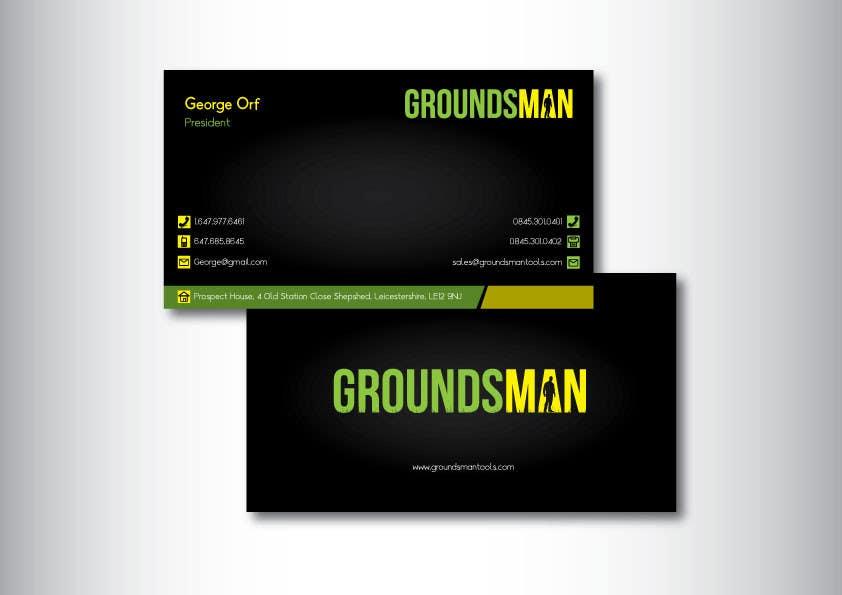 Inscrição nº 110 do Concurso para Design some Stationery for Groundsman, cards, letter heads and email footers