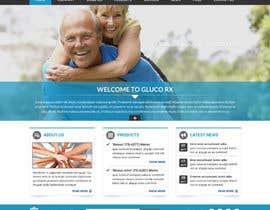#53 for Design a WebGluco RX Websitesite Mockup by imrickmiller