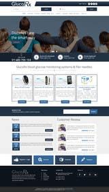 ankisethiya tarafından Design a WebGluco RX Websitesite Mockup için no 9