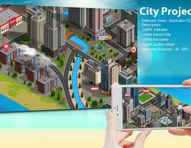 sandwalkers tarafından 100+ isometric building designs for mobile city building game için no 14