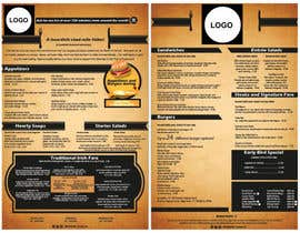 vivekdaneapen tarafından Design a menu card için no 5