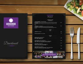 umar97 tarafından Design a menu card için no 14