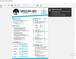 Tawfeekamr tarafından Design a personal CV and work history ( with sketch simple drawing ) için no 1