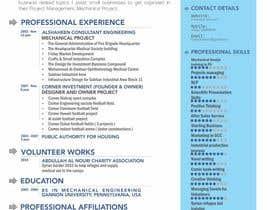 bagas0774 tarafından Design a personal CV and work history ( with sketch simple drawing ) için no 13