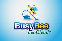 Graphic Design Contest Entry #209 for Logo Design for BusyBee Eco Clean. An environmentally friendly cleaning company