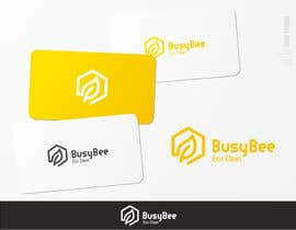 brendlab tarafından Logo Design for BusyBee Eco Clean. An environmentally friendly cleaning company için no 344