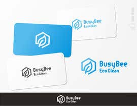 brendlab tarafından Logo Design for BusyBee Eco Clean. An environmentally friendly cleaning company için no 347