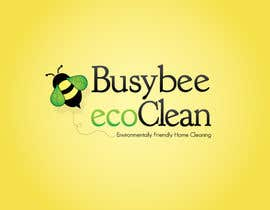 #248 dla Logo Design for BusyBee Eco Clean. An environmentally friendly cleaning company przez jennfeaster