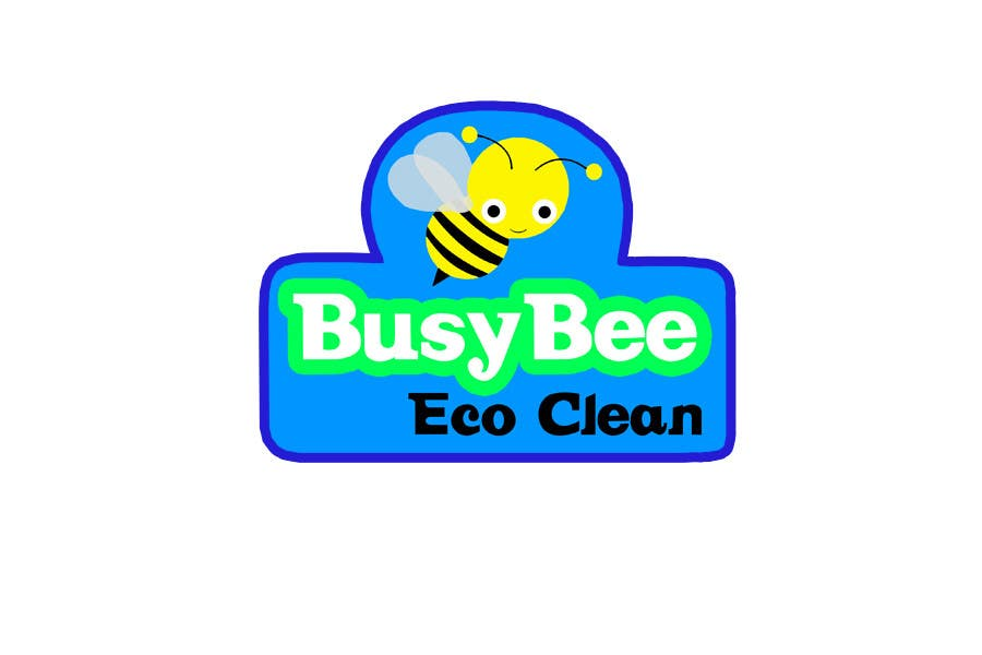 Contest Entry #202 for Logo Design for BusyBee Eco Clean. An environmentally friendly cleaning company