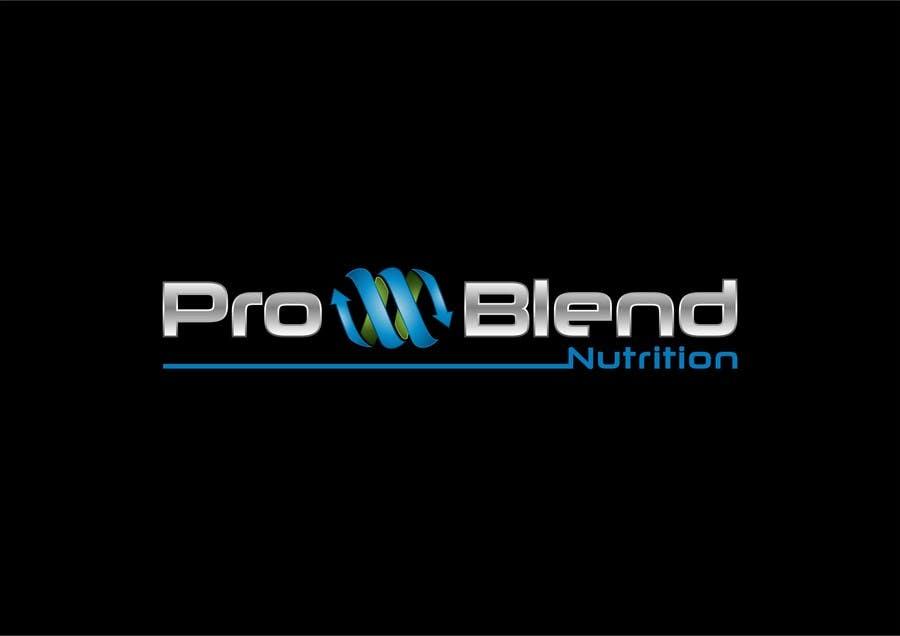 #259 for Design a Logo for PRO-BLEND NUTRITION by alkalifi