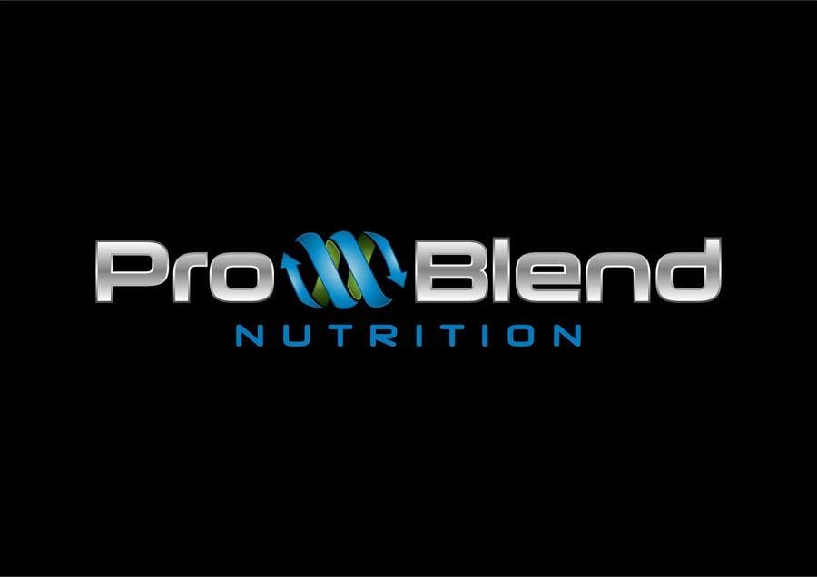 #402 for Design a Logo for PRO-BLEND NUTRITION by alkalifi