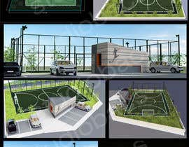 #23 for 5/6 a side mini soccer pitch af studiobacs
