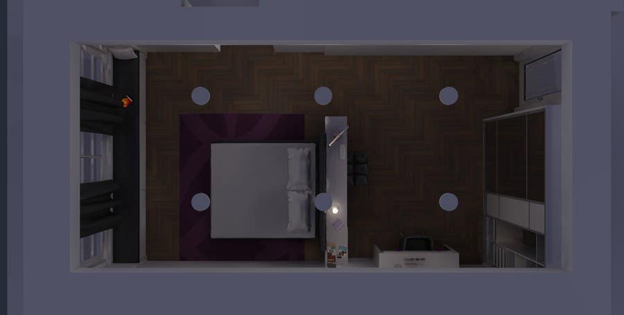 Contest Entry #3 for Help Me Design My Room & Entry #3 by alymithani for Help Me Design My Room | Freelancer