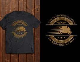 griffindesing tarafından Design a T-Shirt  -  Sport Motorcycle  Quote için no 31