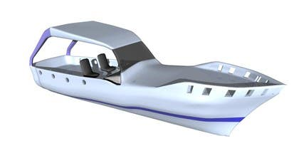 3D Modelling Contest Entry #3 for Concept Boat Design - 1 concept only