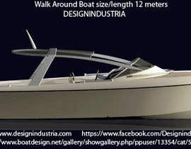 #4 for Concept Boat Design - 1 concept only by designindustria