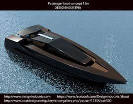 #11 for Concept Boat Design - 1 concept only by designindustria