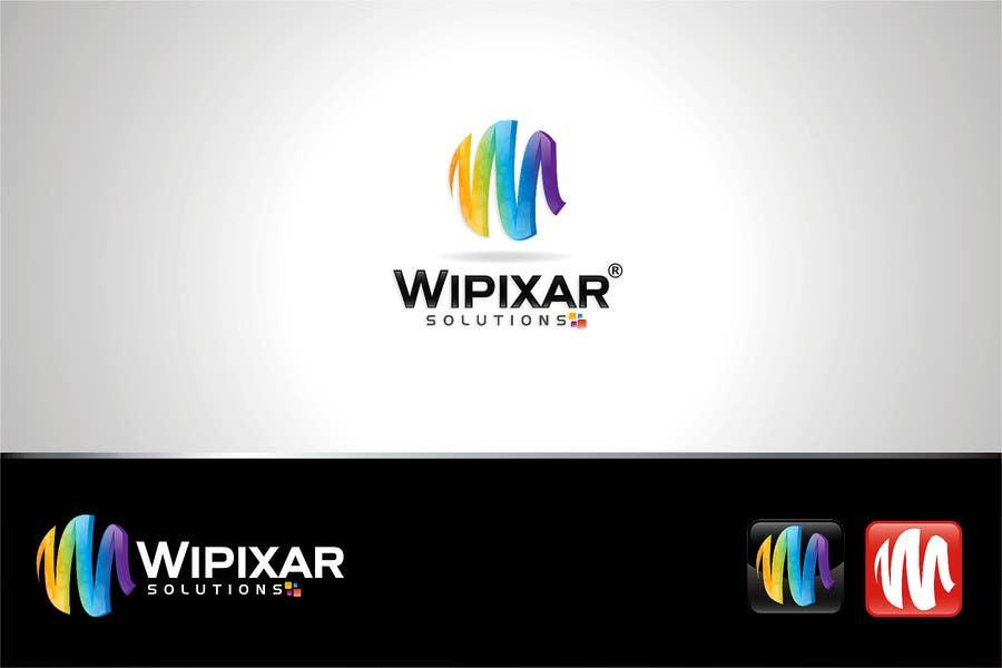 Penyertaan Peraduan #72 untuk Wipixar Solutions Logo Design