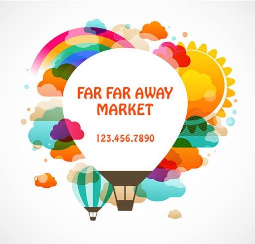 Penyertaan Peraduan #107 untuk Design a Logo for Far Far Away Market