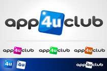 Graphic Design Kilpailutyö #141 kilpailuun Logo Design for App 4 u Club