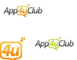 #406 para Logo Design for App 4 u Club por zeedezign