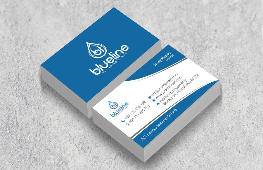 Entry #43 by mjsteadfast for Design some Business Cards and Fridge ...