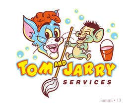 Nro 32 kilpailuun Design a Logo for Tom and Jarry Services - NB this logo must be based upon Tom and Jerry and include characters based on this. DO not submit unless this is done käyttäjältä andyiommi
