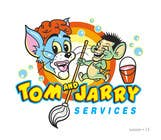 Contest Entry #33 for Design a Logo for Tom and Jarry Services - NB this logo must be based upon Tom and Jerry and include characters based on this. DO not submit unless this is done
