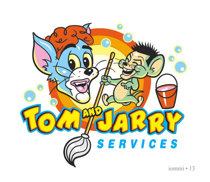 #33 for Design a Logo for Tom and Jarry Services - NB this logo must be based upon Tom and Jerry and include characters based on this. DO not submit unless this is done by andyiommi
