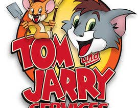 Nro 25 kilpailuun Design a Logo for Tom and Jarry Services - NB this logo must be based upon Tom and Jerry and include characters based on this. DO not submit unless this is done käyttäjältä peshan