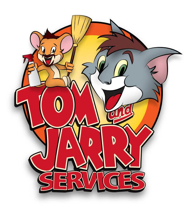 #35 for Design a Logo for Tom and Jarry Services - NB this logo must be based upon Tom and Jerry and include characters based on this. DO not submit unless this is done by peshan