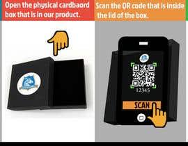 #7 para Infographic for how to login to app using QR code de Naqvi8