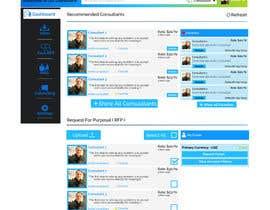 #3 for Mock-up design for consultant marketplace website af codegur
