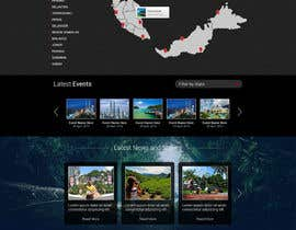 #15 for Design a Responsive Website Mockup for Tourism (Wire-frame Provided) by elshahat