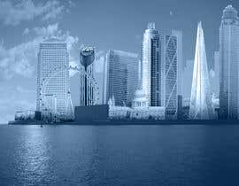 nº 13 pour Create a composite landing page image of the London financial skyline par nishankumar