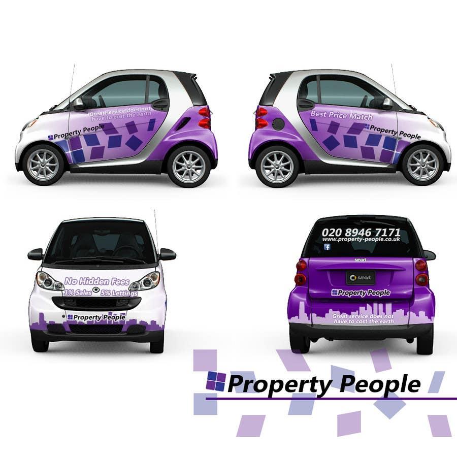 Kilpailutyö #18 kilpailussa I need some Graphic Design for a company car