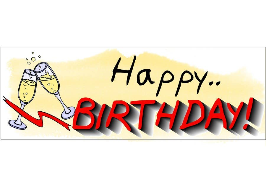 #12 for i need 5 designs for birthday banners by ELNADEJAGER