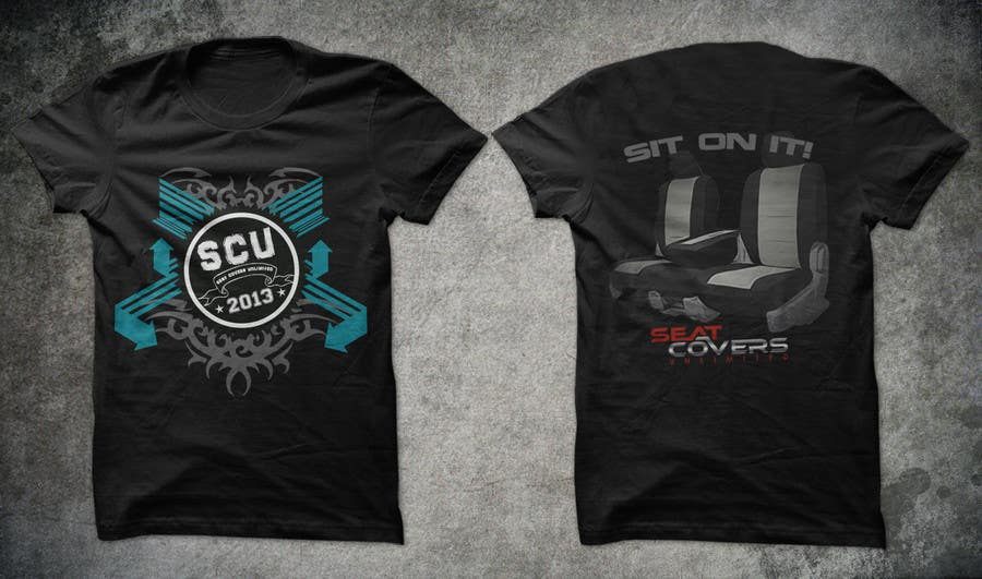 #29 for Logo Design for Seat Covers Unlimited T-Shirts by armanlim