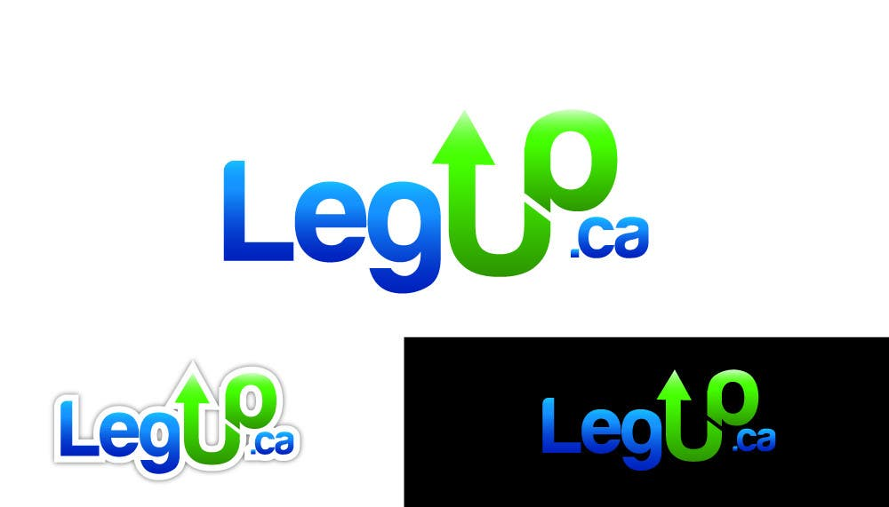 "#168 for Design a Logo for Crowdfunding Site ""LegUp.ca"" by hemanthalaksiri"