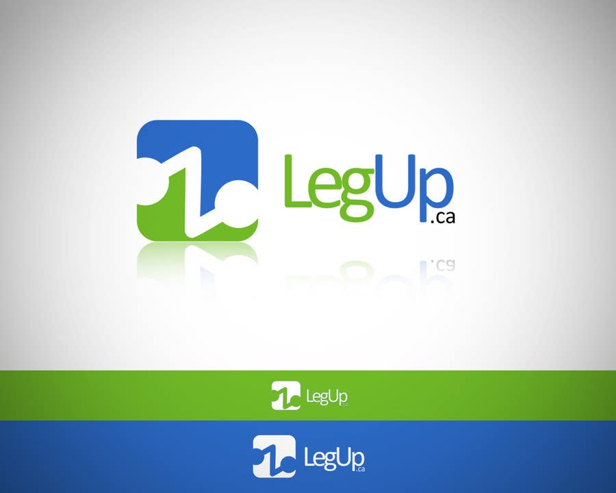 "Konkurrenceindlæg #3 for Design a Logo for Crowdfunding Site ""LegUp.ca"""