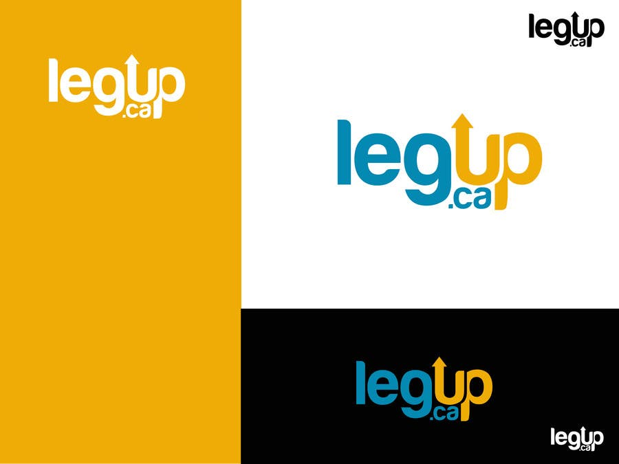 "Konkurrenceindlæg #39 for Design a Logo for Crowdfunding Site ""LegUp.ca"""