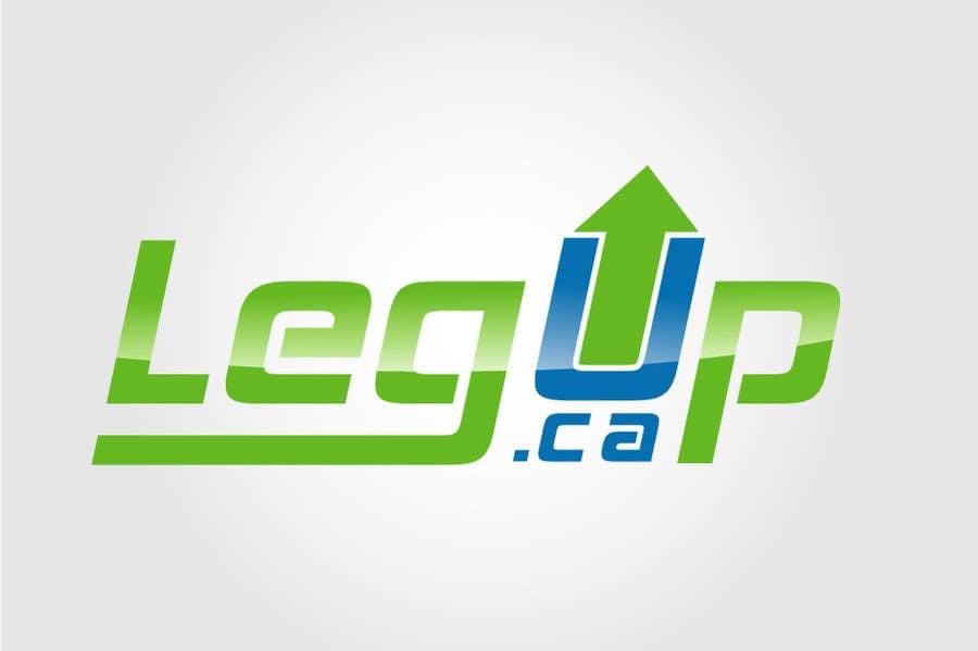 "#27 for Design a Logo for Crowdfunding Site ""LegUp.ca"" by creativdiz"