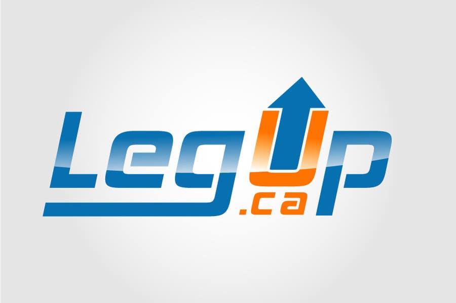 "#29 for Design a Logo for Crowdfunding Site ""LegUp.ca"" by creativdiz"