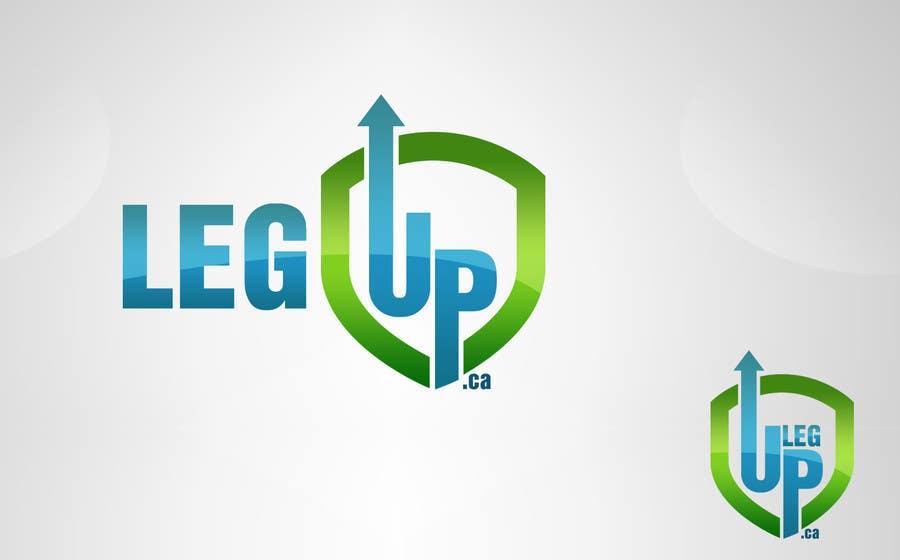 """#183 for Design a Logo for Crowdfunding Site """"LegUp.ca"""" by grafikguru"""