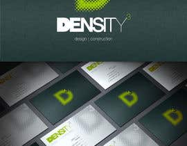 #13 for Density3 Design and Construction Logo design by HallidayBooks